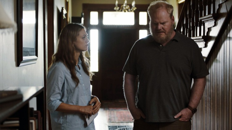 Marin Ireland and Jim Gaffigan in Light From Light